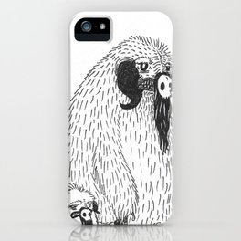 A Mother's Rage iPhone Case