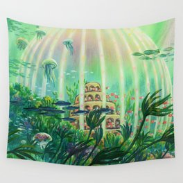 The Age of the Ocean  Wall Tapestry