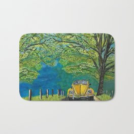 Tennessee Cabriolet Spring Drive Bath Mat