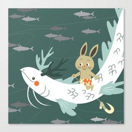 RIA - Sea Dragon Canvas Print
