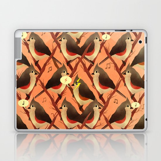 Song Birds Laptop & iPad Skin