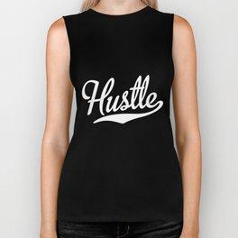 Hustle Script and Tail  Team Sports Flow Athlete Work Hard Hustle Biker Tank