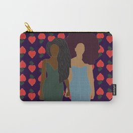 Strawberry Bawse Babes Carry-All Pouch