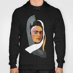 Abstract Frida Kahlo  Hoody