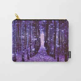 Magical Forest Purple Carry-All Pouch