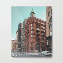 Broadway & Bleecker Metal Print