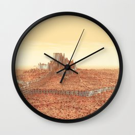 Melting In The Sun Wall Clock