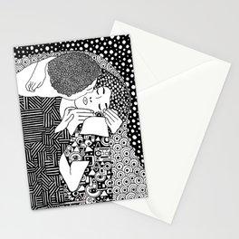 The kiss. Gustav Klimt Stationery Cards