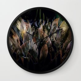 Faerie Dust I Wall Clock