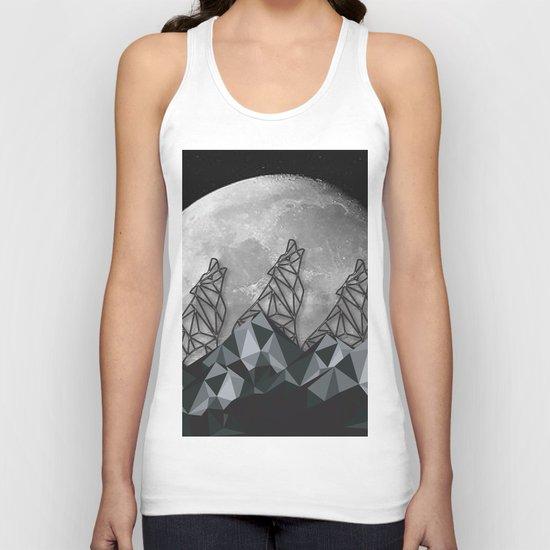 Wolf Moon Unisex Tank Top