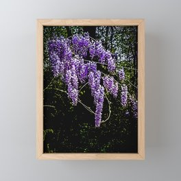 Blossom Drizzle Framed Mini Art Print