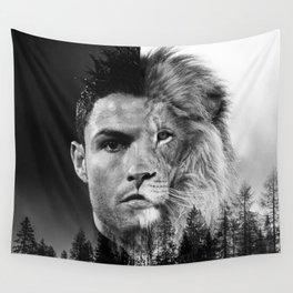 Cristiano Ronaldo Beast Mode Wall Tapestry