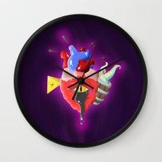 Cursed Heart Wall Clock