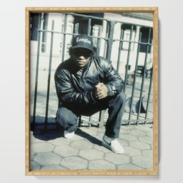 Eazy Classic Rap Photography Serving Tray