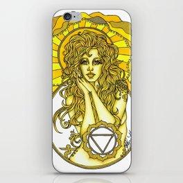 Solar Plexus Chara iPhone Skin