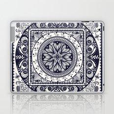 Navy Blue Mandala Laptop & iPad Skin