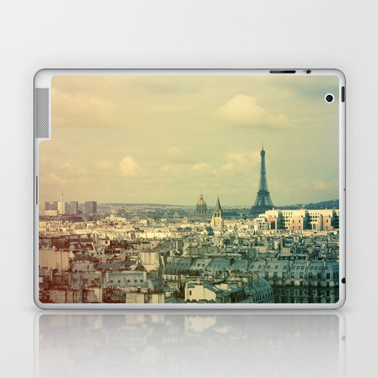 Pale Paris Laptop & iPad Skin