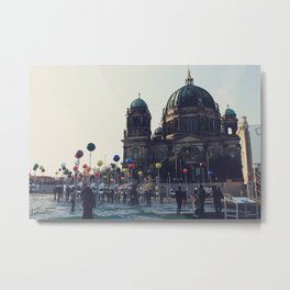 Berlin Points Metal Print