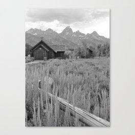 Chapel of the Transfiguration - Grand Teton National Park - Wyoming Canvas Print
