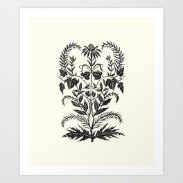 Wild Weeds Art Print