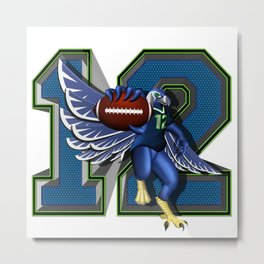 Seattle's 12th Man Metal Print