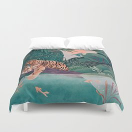 Lazy day Duvet Cover