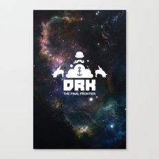 Dreck-The Final Frontier Canvas Print