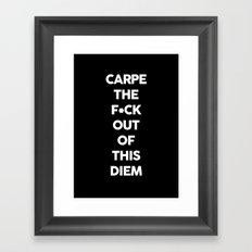 Carpe  Framed Art Print