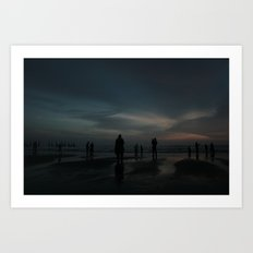 Ghost Beach Art Print