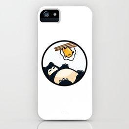 Snorlax Gudetama Lazy Duo (San-x) iPhone Case