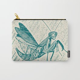 Insect's badge. Mantis. Carry-All Pouch