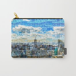 New York City Mosaic Carry-All Pouch