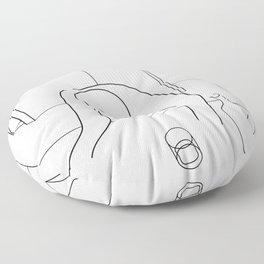 Life is Relentless Floor Pillow