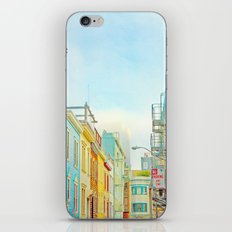 SF Tops 1 iPhone & iPod Skin