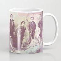 vampire diaries Mugs featuring The Vampire Diaries TV Series by Nechifor Ionut