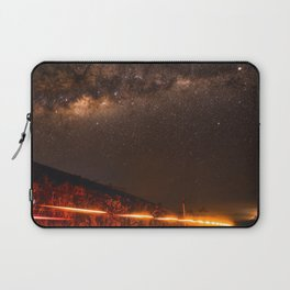 The Red Sky Road (Color) Laptop Sleeve