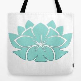 M Designs co lotus plumeria blossom Tote Bag