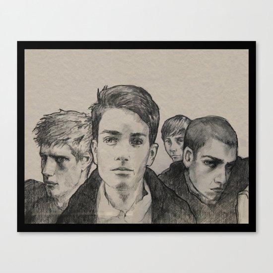 The Raven Boys Canvas Print
