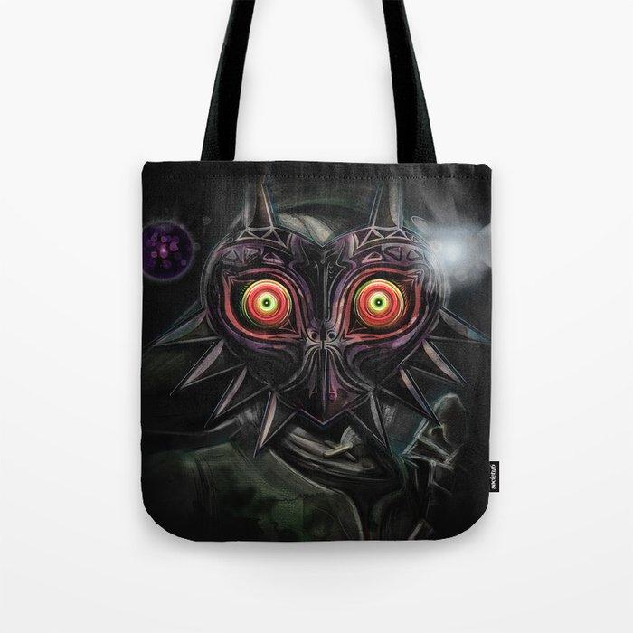 Legend Of Zelda Majora S Mask Link Tote Bag