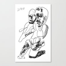 20170206 Canvas Print