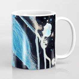 Blue Splatter Drip Betta Coffee Mug