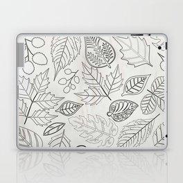 Sketchy Leaves Laptop & iPad Skin