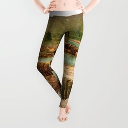 Pulpit Terraces Mountains Leggings