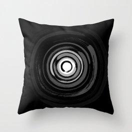 Enso Circles - Zen Circles #2 Throw Pillow