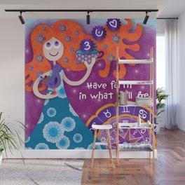 Tasseography Wall Mural