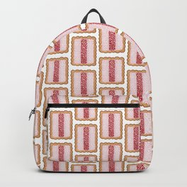 All the Iced Vovos in White Backpack