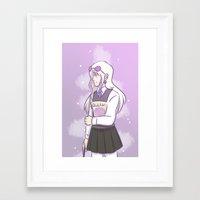 luna lovegood Framed Art Prints featuring Luna Lovegood by TheKingKez