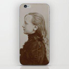 Portrait of the young Queen Wilhelmina, Adolphe Zimmermans, 1891 iPhone Skin