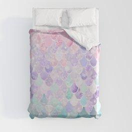Mermaid Pastel Duvet Cover