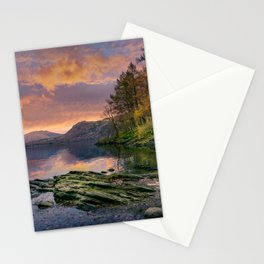 Fall on the Rocks Stationery Cards
